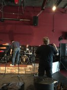 Setting the stage at Club 54 Wounded Warrior 10 10 2015