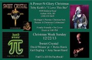 Power & Glory Christmas Concert at Toby Keith's Bar & Grill in Auburn Hills, MI