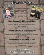 """UP AND COMING EVENTS WITH """"SWEET CRYSTAL"""""""